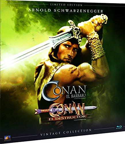 Conan 1+2 Colección Vintage (Funda Vinilo)  Blu-Ray [Blu-ray]