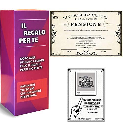 Epic Surprise Idea Regalo per Scherzo, Pensione, Scherzo, Dono PENSIONATA, Prendi in Giro Il Tuo...