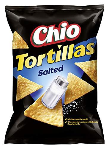 Chio Tortilla Chips Original Salted, 10er Pack (10 x 125 g)