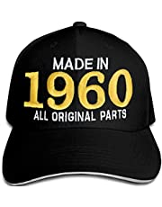 Bombo Gemaakt in 1960 Alle Originele Parts^60 Jaar Verjaardagspartij hoed Zwart