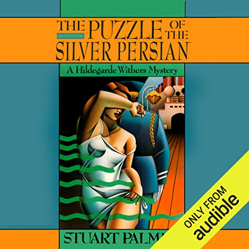 The Puzzle of the Silver Persian cover art