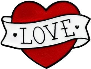 Best love heart pins Reviews