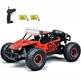 SZJJX Remote Control Car for Boys Girls, 20 Km/h High Speed RC Trucks Car, 1:14 Scale Fast All Terrains Off Road Monster Crawler Vehicle Toy with Headlights 2 Batteries for Adults Kids 40 Min Play