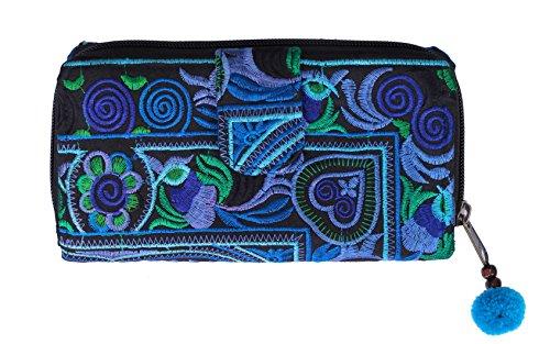 Pacific - Travel wallet, Damen Portemonnaies , Geldbörse ,Geldbeutel , Portemonnaie (blau)