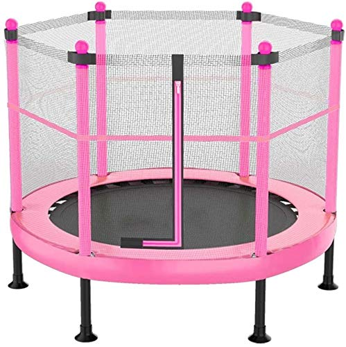 YAOJIA Indoor trampoline Mini Trampoline Foldable For Kids Rebounder Trampoline With Fence For Indoor/Outdoor/Garden/Max Load 300 Lbs,40inch