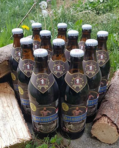 Polsterbräu Doppelbock | 12 Mehrwegflaschen (0,5l) | Bierspezialität aus Oberfranken