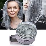 HailiCare 120g Silber Grau Haarwachs Männer und Frauen Professionelle Haar Pomaden, Temporäre...