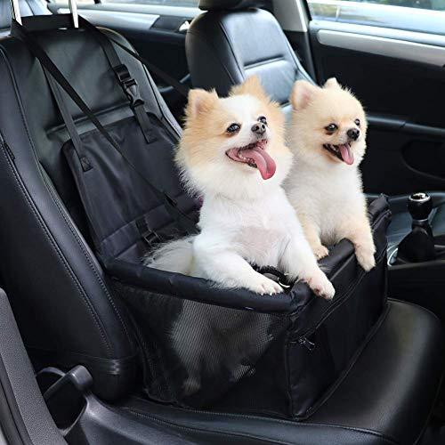 SaponinTree Asiento del Coche de Seguridad para Mascotas Perro Gato, Impermeable Protector de la Cubierta del Asiento del Perro para Viaje, Protector de Asiento de Coche para Mascota Perro Gato