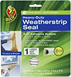 Duck Brand Heavy-Duty Self Adhesive Weatherstrip Seal for Large...