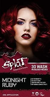 Splat 30 Wash No Bleach Formula (Midnight Ruby)