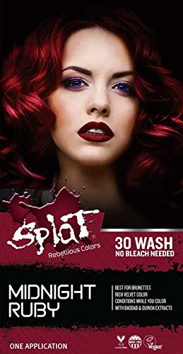 Splat Midnight No Bleach Kit (Midnight Ruby)