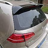 Rsioslez Voiture Becquet Aileron de Coffre arrière pour VW Golf 7 Mk7 2013-2017,Becquet Arrière de Voiture ABS Matériel Lightweight Spoiler,Coffre De Voiture Aileron Arrière