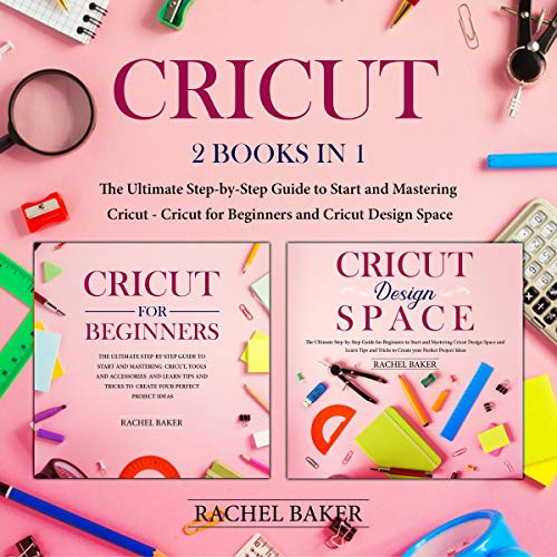 Cricut: 2 books in 1 cover art