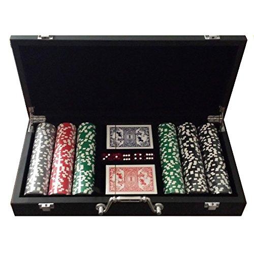 Set poker valigetta legno 300 Fiches 14 grammi WSOP Replica