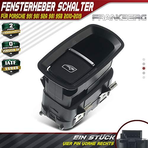 Fensterheber Schalter Taste Vorne Rechts für 911 Boxster Cayenne Macan Cayman 2010-2019 7PP959855CDML
