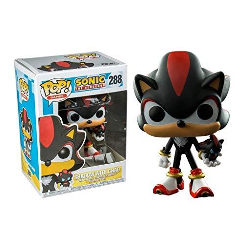 LTY Funko Pop: Sonic Shadow con Chao de colección de Vinilo a Partir de la Figura Anime Regalos Chibi