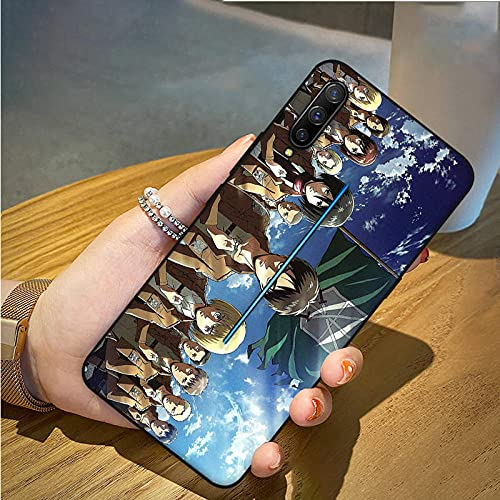 Carcasa de Cristal Templado para iPhone 6, 6S, 7, 8 Plus, XR, XS 11, 12 Pro MAX Mini SE 2020 Attack On Titan Fundas básicas-A_for_iphone12