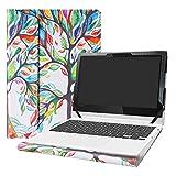 Alapmk Protective Case Cover for 11.6' Lenovo Chromebook C330 Series Laptop[Warning:Not fit Lenovo Chromebook S330],Love Tree