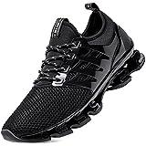SKDOIUL All Black Tennis Shoes Black Mens...