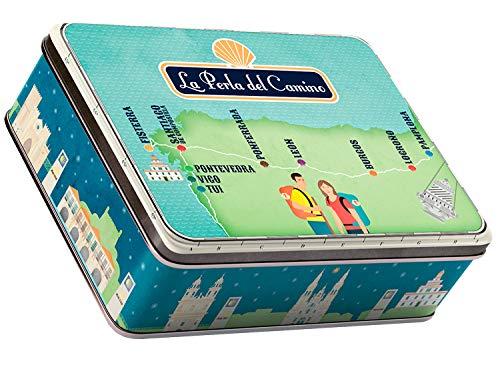 Souvenir La Perla del Camino - Caja Colección Camino Francés - Zamburiñas...