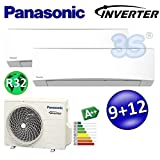 CLIMATISATION PANASONIC Inverter R32 FREE MULTI Bi-split A++ A+ 2,5+3,5 kw TZ