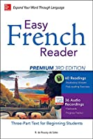 Easy French Reader: A Three-Part Text for Beginning Students (Easy Reader)