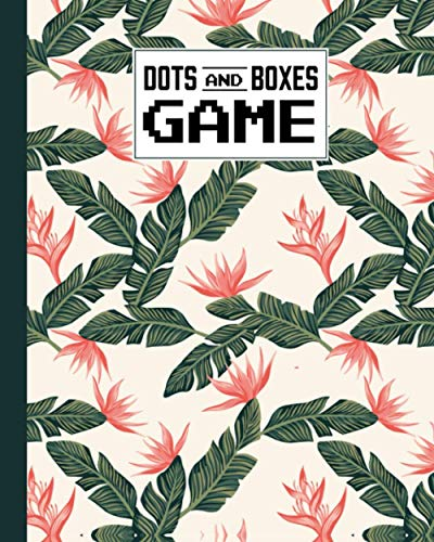 Dots And Boxes Game: Palm Trees Cover Dots & Boxes Activity Book - 120 Pages!, Dots and Boxes Game Notebook - Short or Long Games - Play with Friends - Classic Pen & Paper Games (8.5 x 11 inches)