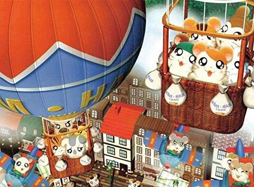 DFRTY 1000 Rompecabezas de Madera Rompecabezas Adulto Rompecabezas de ratón de Globo aerostático de Dibujos Animados Lindo Juguetes educativos para niños Juegos Familiares