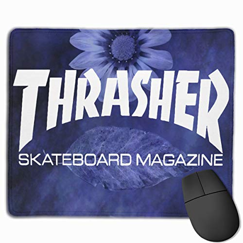 Mousepad Custom Thrasher Skateboard Magazine Painting Art Mouse Pads