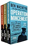 Ben Macintyre Collection 3 Books Set (Operation Mincemeat, Double Cross, Agent Zigzag)