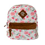 Little Me Backpack with Safety Harness Leash, Child Baby Toddler Travel (Floral)