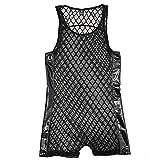 KaloryWee Einteilige Atmungsaktive Herren Unterwäsche Sexy Mesh Bodydoll Bequemer Mann Schlafanzug Bodysuit Einzigartig 2020 Neu