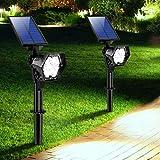 【2020 Nuevo】 Lámpara Solares Exterior, 3 Modos de Brillo Focos LED Exterior, Impermea...