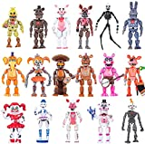 New Featured by Five Nights at Freddys Action Figures | 2021 Set of 17 PCS | FNAF Action Figure Toys | About 6 inches Toy Dolls | Ideal Collection and Gift for Kids