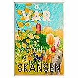 Skansen Open-air Museum and Zoo Tulips...