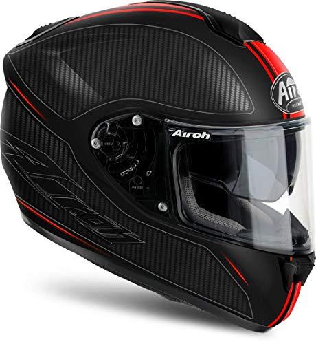 Airoh - casco moto airoh st 701 slash red matt st7sl55 - cas6f - xxl