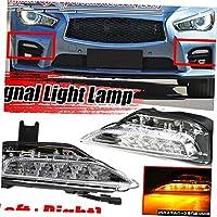 左&右信号ライトランプのためにインフィニティQ50 2014-2019 261354GA1A 26130