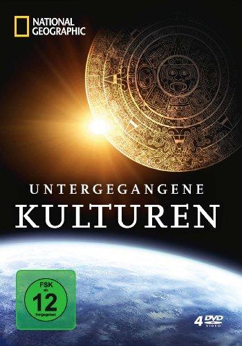 National Geographic - Untergegangene Kulturen [4 DVDs]