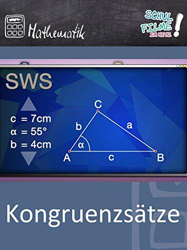 Kongruenzsätze - Schulfilm Mathematik
