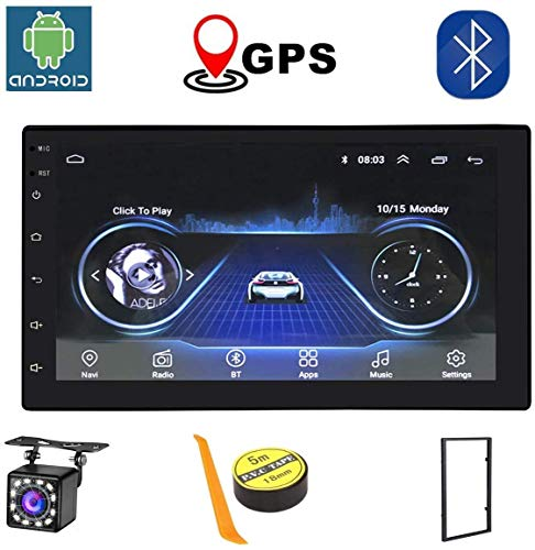 Android 8.1 Car Radio RAM 1GB + ROM 16GB Android 7 Pulgadas 2Din Universal Car Radio Autoradio GPS Multimedia Unit Player