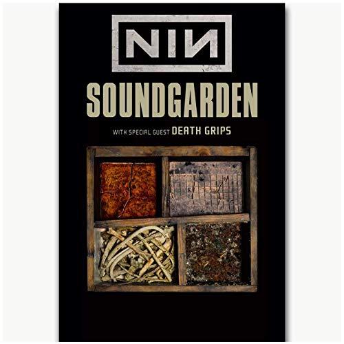 Chris Cornell Soundgarden Concierto de música rock-Carteles artístic