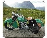 HJJL Alfombrilla de ratón Profesional Motocicleta de Polvo Motocross Paisaje Alfombrilla de ratón