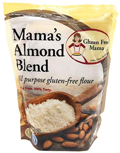 Gluten Free Mama?s: Almond Blend Flour 2lbs - Pack of 6 & - Gluten Free Flour - Non-Gritty Texture - Great Flavor - Certified Gluten Free Ingredients - All Purpose - Safe for Celiac Diet