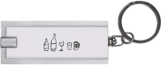 'Alcohol Selection' Keyring LED Torch (KT00006541)