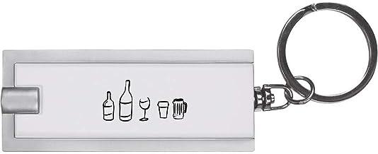 'Alcohol Selection' Keyring LED Torch (KT00006541)