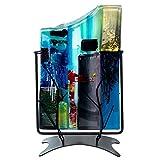 Jarrón de cristal Benjamin Art Estilo Murano–Jarrón de cristal multicolor en soporte 34,5cm