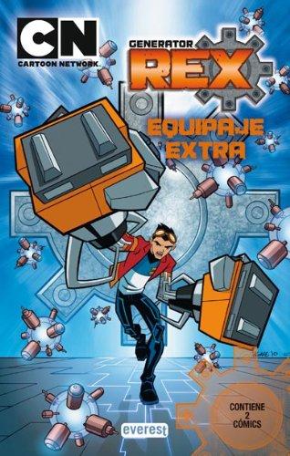 Generator Rex. Equipaje Extra. Cómic 2 (Libros de lectura)