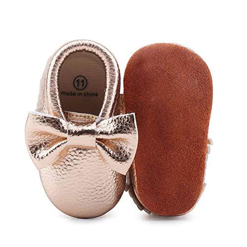 Rose Gold Infant Shoes