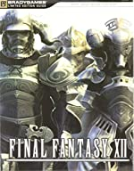 Final Fantasy XII Limited Edition Guide de BradyGames