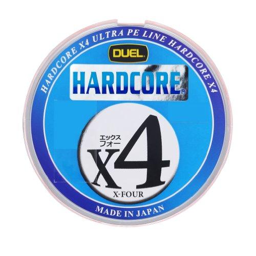 DUEL(デュエル) HARDCORE(ハードコア) PEライン 0.5号 HARDCORE X4 200m 0.5号 マーキングシステム/10m×5色 H3279